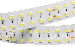 Лента RT 2-2500 24V White 2x2 (5060, 350 LED)