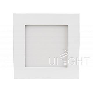 Светильник DL-93x93M-5W Warm White (ARL, IP40 Металл, 3 года)