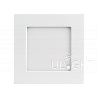 Светильник DL-120x120M-9W Day White (ARL, IP40 Металл, 3 года)