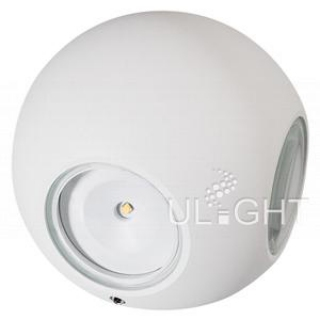 Светильник LGD-Wall-Orb-4WH-8W Warm White