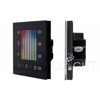 Панель Sens SR-2831AC-RF-IN Black (220V,RGB,4зоны) (ARL, IP20 Пластик, 3 года)
