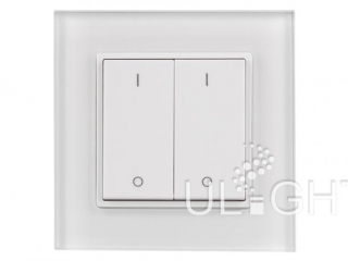 Фото №:1 Панель Knob SR-2801K2-RF-UP White (3V, DIM,2 зоны)