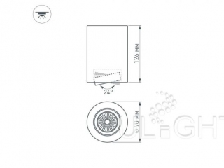 Фото №:5 Светильник SP-FOCUS-R90-9W Day White