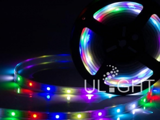 Фото №:1 Лента SPI-5000P-AM 5V RGB (5060, 150 LED x1, 2812)
