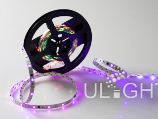 Фото №:2 Лента SPI-5000-AM 12V RGB (5060, 150 LED x3, 1804)