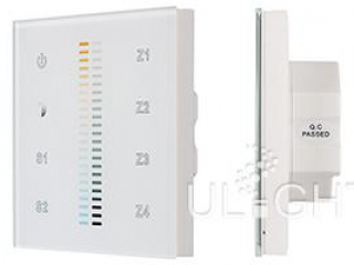 Фото №:3 Панель Sens SR-2830B-AC-RF-IN White (220V,MIX+DIM,4зоны)