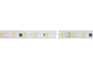 Лента ARL-50000PV-230V Cool 10K (5060, 54 LED/m, WP2) (ARL, 8 Вт/м, IP65)