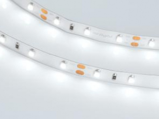 Лента RT 2-5000 12V Yellow (3528, 300 LED, LUX) (ARL, 4.8 Вт/м, IP20)