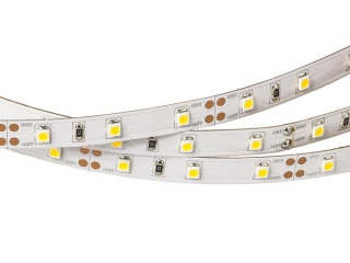 Лента RT2-3528-60-12V Warm White (300 LED) (Norm, 4.8 Вт/м, IP20)
