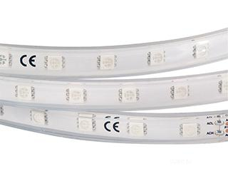 Лента ARL-W5060PG-54-220V Green (540 LED, 10m) (ARL, 9 Вт/м, IP67)